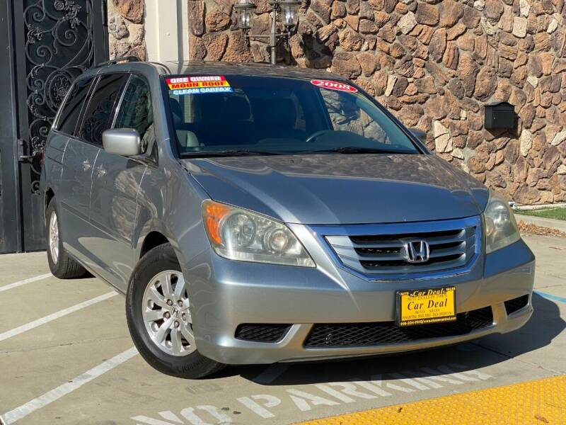 2008 Honda Odyssey for sale at Car Deal Auto Sales in Sacramento CA