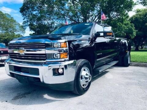 2015 Chevrolet Silverado 3500HD for sale at Venmotors LLC in Hollywood FL