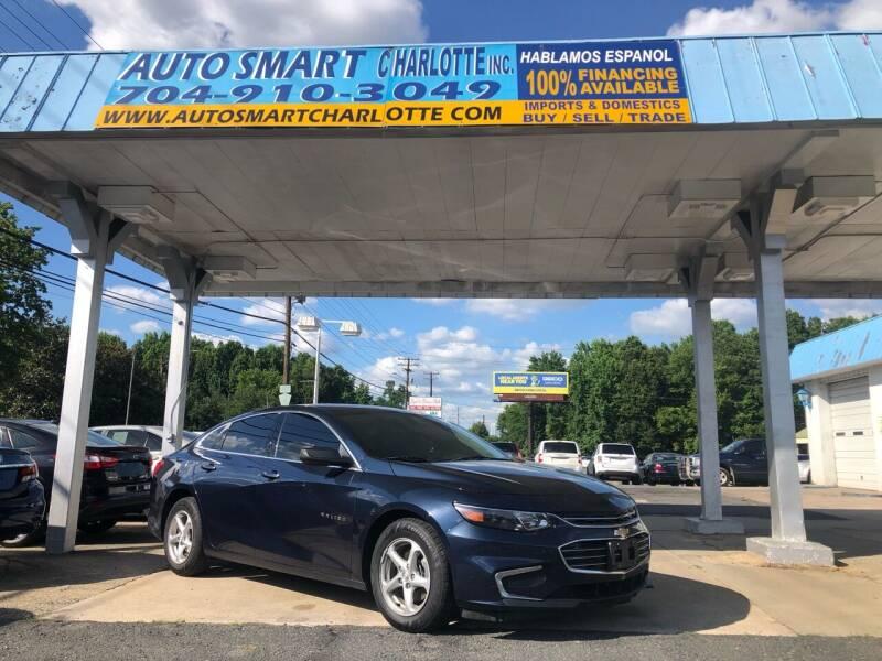2017 Chevrolet Malibu for sale at Auto Smart Charlotte in Charlotte NC