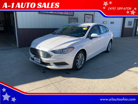2017 Ford Fusion for sale at A-1 AUTO SALES in Mansfield OH