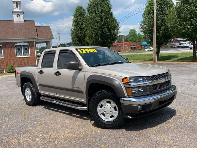 2004 Chevrolet Colorado for sale at Mike's Wholesale Cars in Newton NC