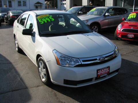 2010 Ford Focus for sale at CLASSIC MOTOR CARS in West Allis WI