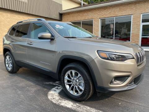 2019 Jeep Cherokee for sale at C Pizzano Auto Sales in Wyoming PA