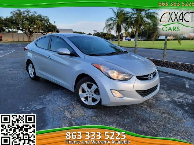 2013 Hyundai Elantra for sale at Exxact Cars in Lakeland FL