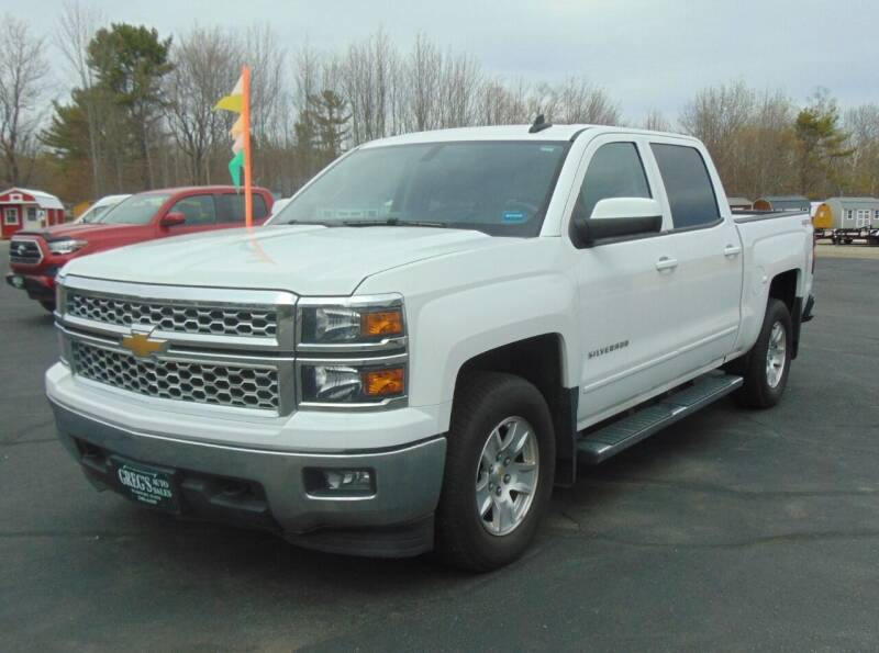 2015 Chevrolet Silverado 1500 for sale at Greg's Auto Sales in Searsport ME