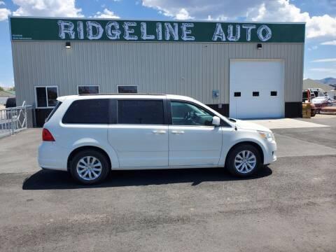 2012 Volkswagen Routan for sale at RIDGELINE AUTO in Chubbuck ID