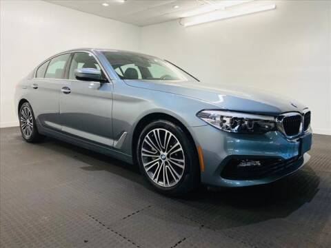2018 BMW 5 Series for sale at Champagne Motor Car Company in Willimantic CT