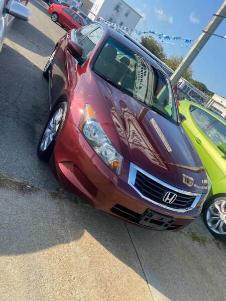 2008 Honda Accord for sale at Bob Luongo's Auto Sales in Fall River MA
