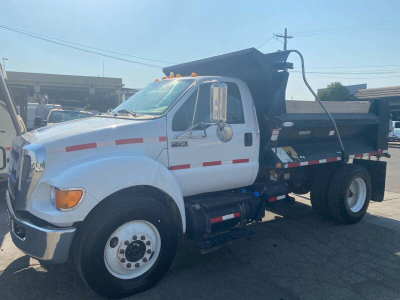 2012 Ford F-750 Super Duty for sale at CA Lease Returns in Livermore CA