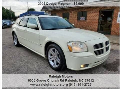 2005 Dodge Magnum for sale at Raleigh Motors in Raleigh NC