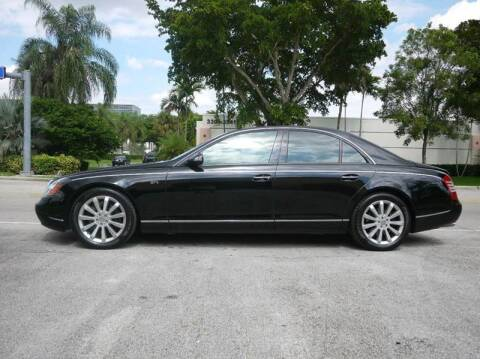 2006 Maybach 57 for sale at PERFORMANCE AUTO WHOLESALERS in Miami FL