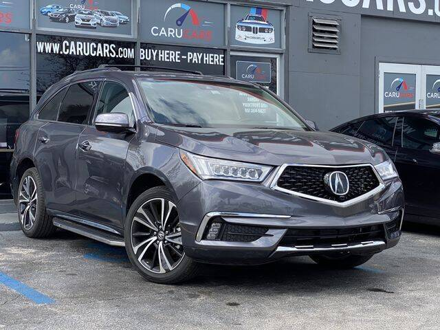 2018 Acura MDX for sale at CARUCARS LLC in Miami FL