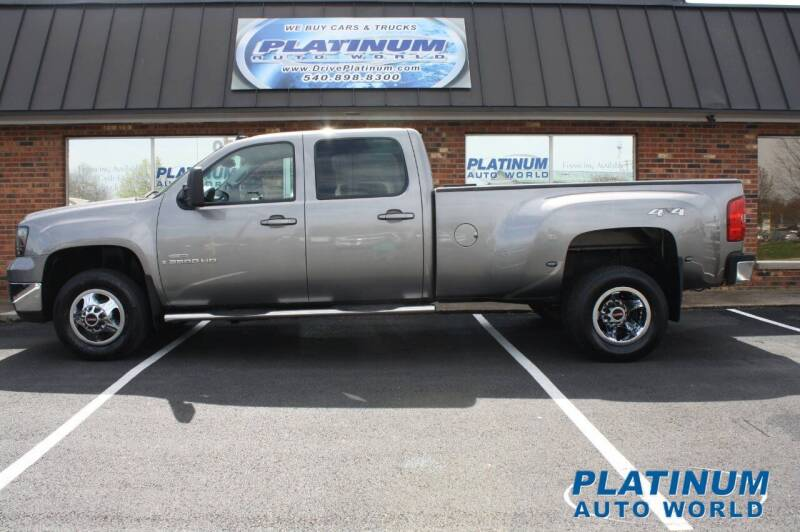 2008 GMC Sierra 3500HD for sale at Platinum Auto World in Fredericksburg VA