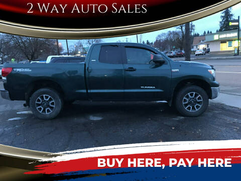 2007 Toyota Tundra for sale at 2 Way Auto Sales in Spokane Valley WA