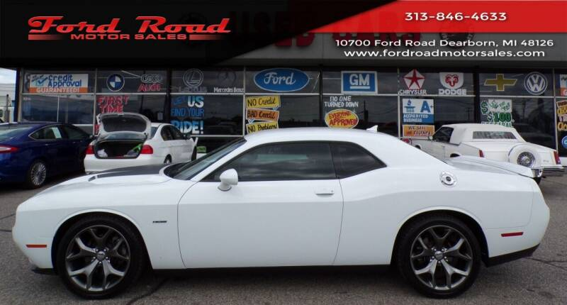 2015 Dodge Challenger for sale at Ford Road Motor Sales in Dearborn MI