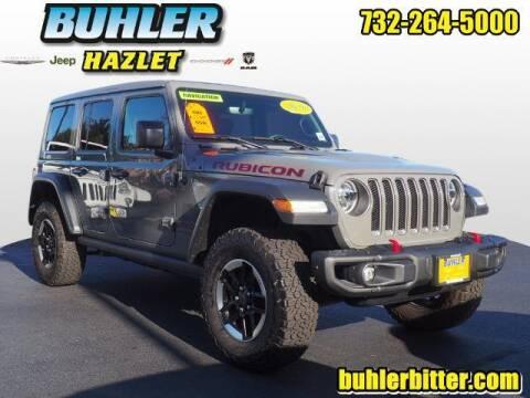 2020 Jeep Wrangler Unlimited for sale at Buhler and Bitter Chrysler Jeep in Hazlet NJ
