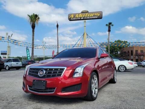 2014 Cadillac ATS for sale at A MOTORS SALES AND FINANCE - 6226 San Pedro Lot in San Antonio TX
