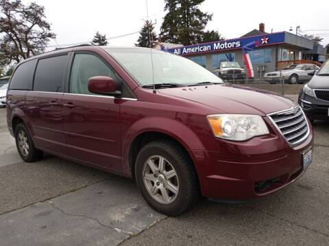 2008 Chrysler Town and Country for sale at All American Motors in Tacoma WA