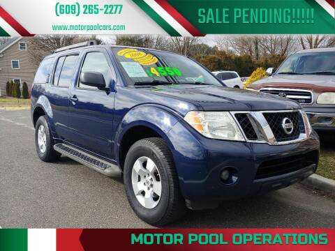 2008 Nissan Pathfinder for sale at Motor Pool Operations in Hainesport NJ