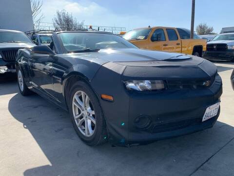 2014 Chevrolet Camaro for sale at Best Buy Quality Cars in Bellflower CA