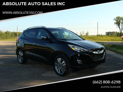 2014 Hyundai Tucson for sale at ABSOLUTE AUTO SALES INC in Corinth MS