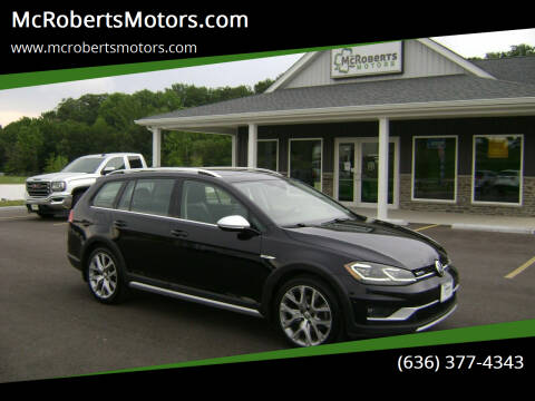 2018 Volkswagen Golf Alltrack for sale at McRobertsMotors.com in Warrenton MO