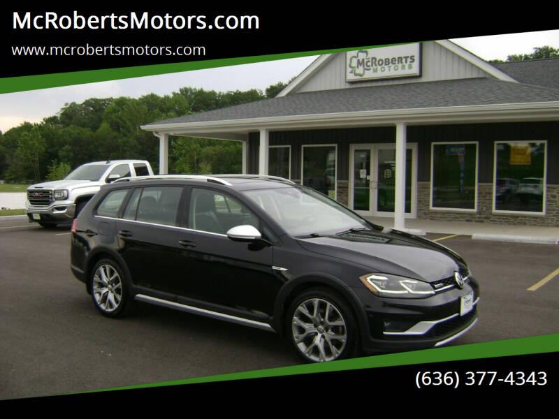 2018 Volkswagen Golf Alltrack for sale at McRobertsMotors.com in Warrenton MO