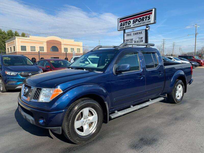 2007 Nissan Frontier for sale at Auto Sports in Hickory NC