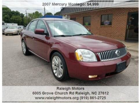 2007 Mercury Montego for sale at Raleigh Motors in Raleigh NC