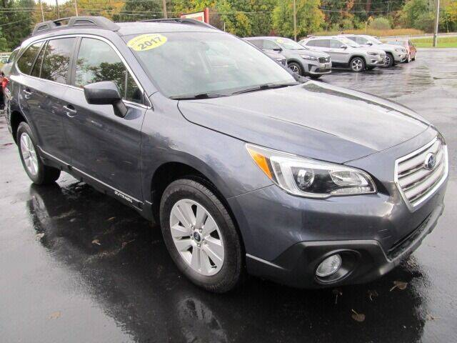 2017 Subaru Outback for sale at Thompson Motors LLC in Attica NY