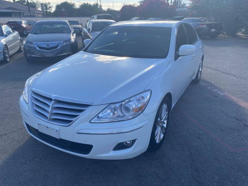 2010 Hyundai Genesis for sale at AutoHaus in Colton CA