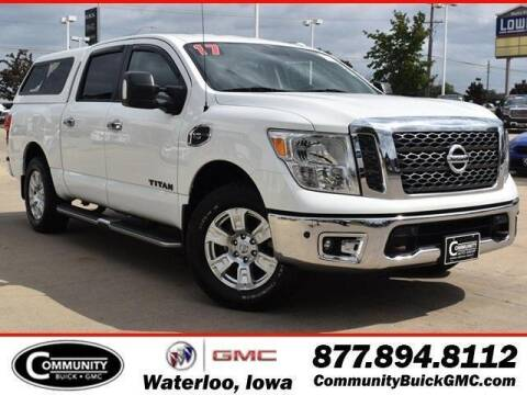 2017 Nissan Titan for sale at Community Buick GMC in Waterloo IA