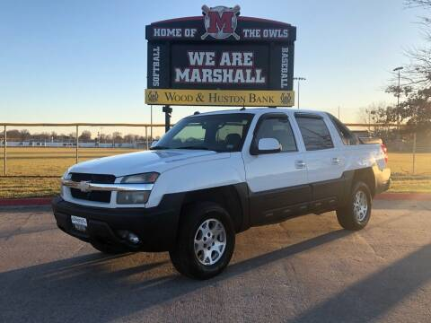 2004 Chevrolet Avalanche for sale at Imperial Auto of Marshall in Marshall MO