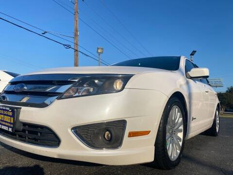 2011 Ford Fusion Hybrid for sale at A-1 Auto Broker Inc. in San Antonio TX