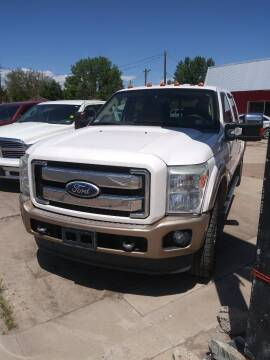 2011 Ford F-250 Super Duty for sale at PYRAMID MOTORS AUTO SALES in Florence CO