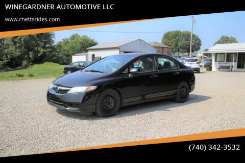 2009 Honda Civic for sale at WINEGARDNER AUTOMOTIVE LLC in New Lexington OH