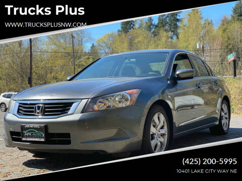 2008 Honda Accord for sale at Trucks Plus in Seattle WA
