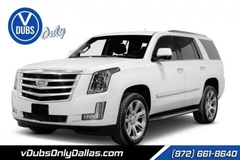 2015 Cadillac Escalade for sale at VDUBS ONLY in Dallas TX