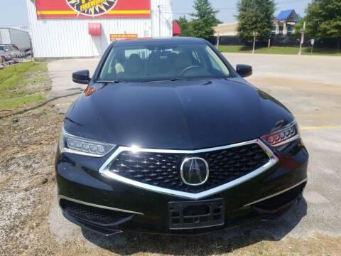 2018 Acura TLX for sale at AUTOPLEX 528 LLC in Huntsville AL