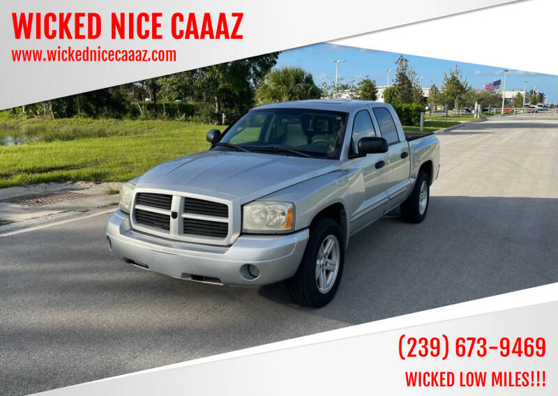2007 Dodge Dakota for sale at WICKED NICE CAAAZ in Cape Coral FL