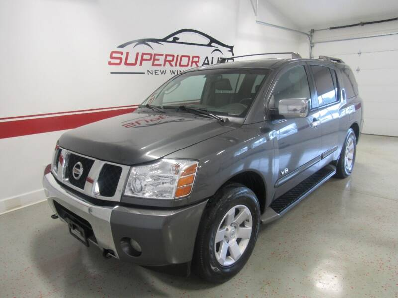 2005 Nissan Armada for sale at Superior Auto Sales in New Windsor NY