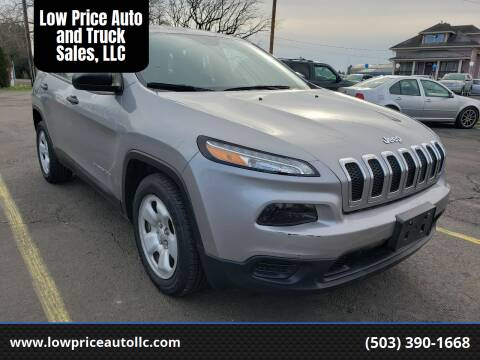 2016 Jeep Cherokee for sale at Low Price Auto and Truck Sales, LLC in Brooks OR