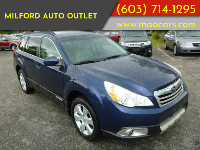 2010 Subaru Outback for sale at Milford Auto Outlet in Milford NH