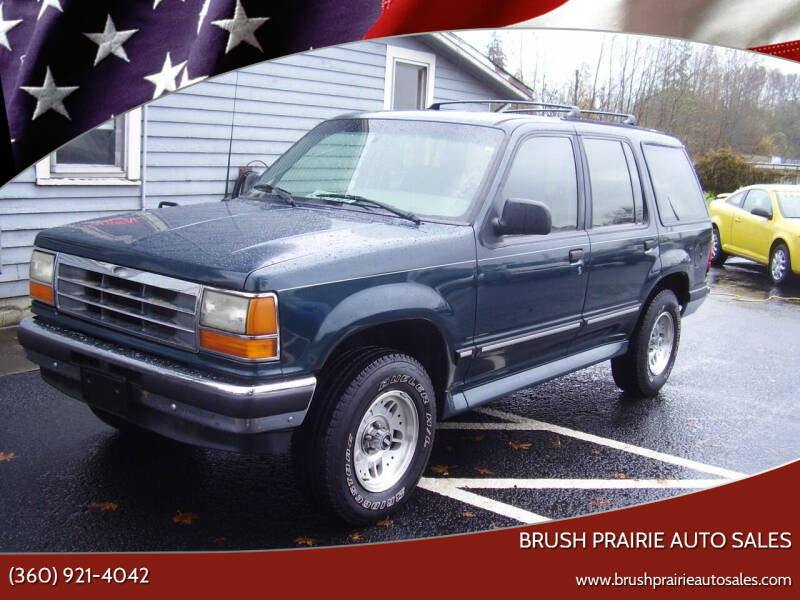 1994 Ford Explorer for sale at Brush Prairie Auto Sales in Battle Ground WA