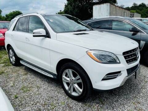 2014 Mercedes-Benz M-Class for sale at RUSTY WALLACE CADILLAC GMC KIA in Morristown TN