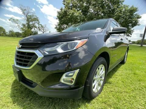 2018 Chevrolet Equinox for sale at Carz Of Texas Auto Sales in San Antonio TX