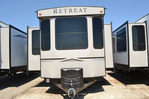 2020 Keystone 391 MKTS RETREAT for sale at Lakota RV - New Park Trailers in Lakota ND