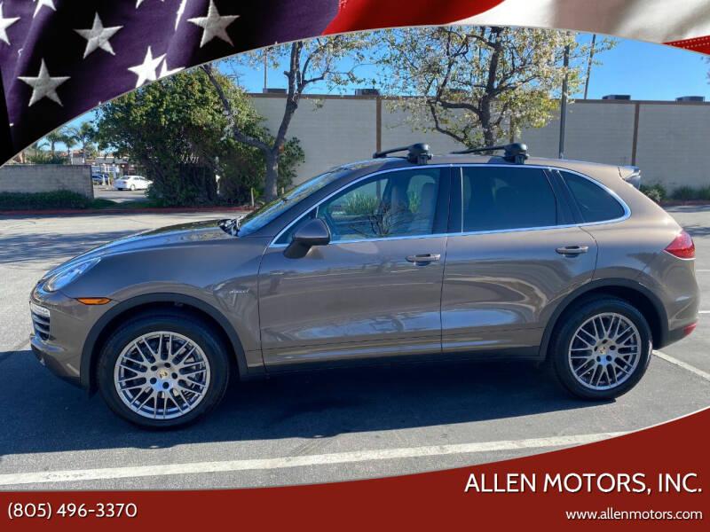 2013 Porsche Cayenne for sale at Allen Motors, Inc. in Thousand Oaks CA