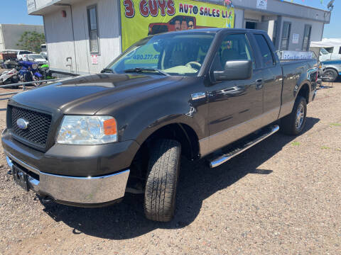 2006 Ford F-150 for sale at 3 Guys Auto Sales LLC in Phoenix AZ