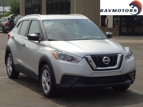 2019 Nissan Kicks for sale at RAVMOTORS 2 in Crystal MN